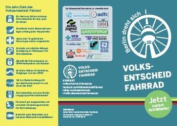 Volksentscheid Flyer