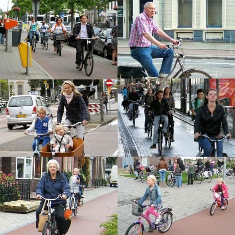 Niederländische Radwege sind angenehm und sicher für alle (Fotos: Bicycle Dutch, anderes BMV)