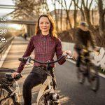 Berliner Radlerinnen unterstützen den Volksentscheid Fahrrad, weil …