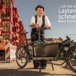 Berliner Radler unterstützen den Volksentscheid Fahrrad, weil …