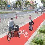 Radwege an Hauptstraßen – sorgenfrei radeln