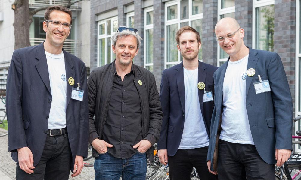 Volksentscheid Fahrrad-Team mit Mikael Colville-Andersen (Foto: Antonia-Richter)