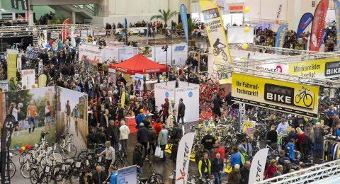 Impression von der Fahrrad ESSEN 2014: Blick in die Halle 6. --- 22-02-2014/Essen/Germany Foto:Rainer Schimm/©MESSE ESSEN GmbH
